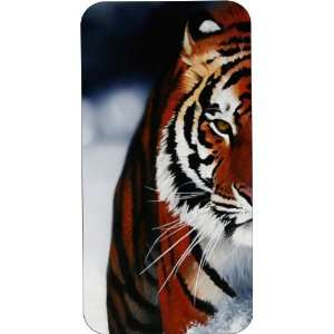 Clear Hard Plastic Case Custom Designed Tiger Profile iPhone Case for
