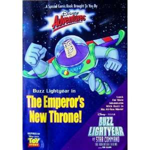 Buzz Lightyear In The Emperors New Throne! (Disney