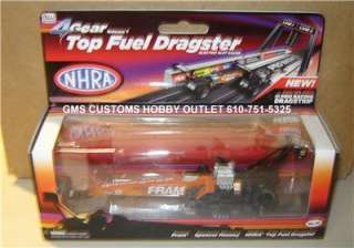 Auto World 4 GEAR Slot Car TOP FUEL DRAGSTER #36 SPENCER MASSEY FRAM
