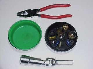Ferrari 308 512 365 Tool Kit Jack Kit Bulb Kit tools OE