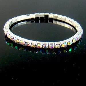 C3116 HOT Exquisite Bridal Crystal Rhinestone Bracelet