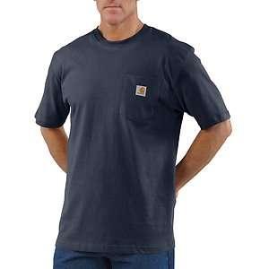 NWT Carhartt Work Wear T Shirt top tee   Short Sleeve (For Men) royal