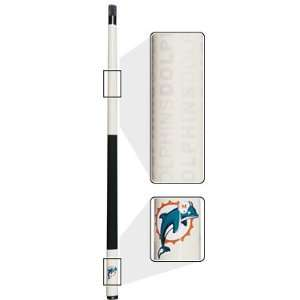 Miami Dolphins Eliminator Pool Cue Sports & Outdoors