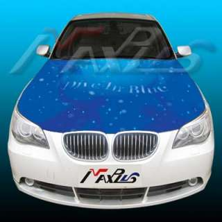 Car Custom Design Hood Bonnet Graphic Decals Stickers 3