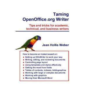 Taming Openoffice.Org Writer (9780957841963): Jean Hollis