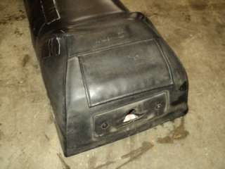 Arctic Cat Seat Tank Combo Black Used Snowmobile 1990s