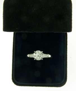 55ct Tiffany&Co Platinum Diamond Engagement Ring VS1/G  GIA Cert