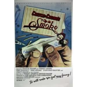Cheech & Chong Authnetic Signed Up In Smoke Poster Psa