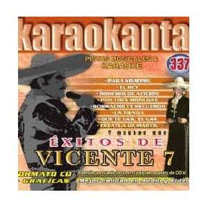 Karaokanta KAR 4337   Al Estilo de Vicente Fernnndez   VII