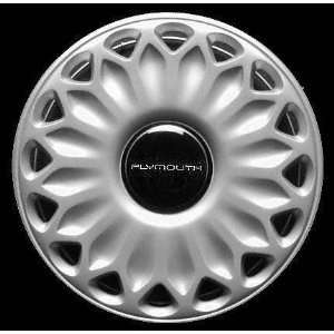 WHEEL COVER HUBCAP HUB CAP 14 INCH, 16 SLOT BRIGHT SILVER 14 inch