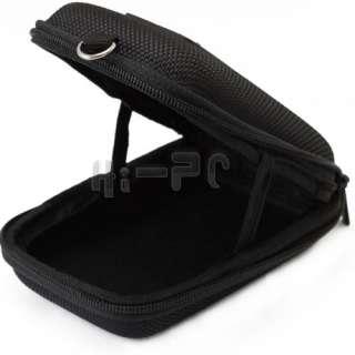 Digital Camera Case Pouch Bag Pouch w/ Strap Small Black 12×8×4cm