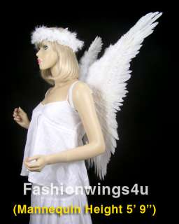 These beautiful angel wings and halos are perfect for photo props