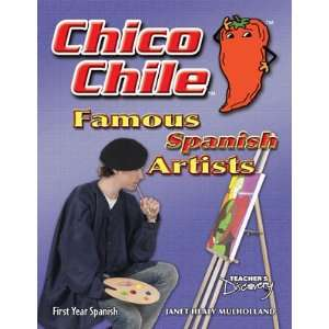 Chico Chile Spanish Artist Activity Book Teachers Discovery Books