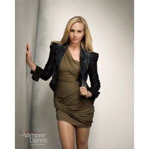 Vampire Diaries Caroline Hand on Wall Photo