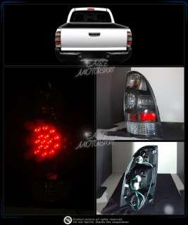 05 08 TOYOTA TACOMA/PRE RUNNER BLK LED BRAKE TAIL LIGHT