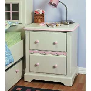 Doll House Collection Two Drawer Nightstand Home