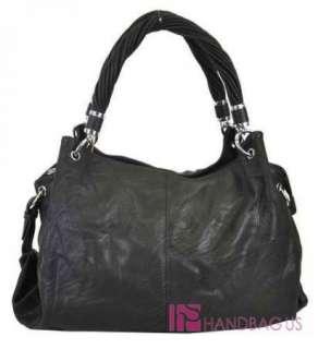 Designer Inspired SOFT PADDED Twist Strap 2 Way Hobo Purse Handbag