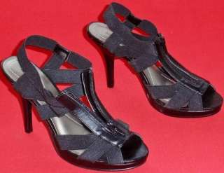 NEW Womens APT 9 Black Pumps Sandals Dress Shoes 7.5 M