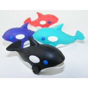 Japanese Dream Erasers   Orca (Killer Whale) Set (2012