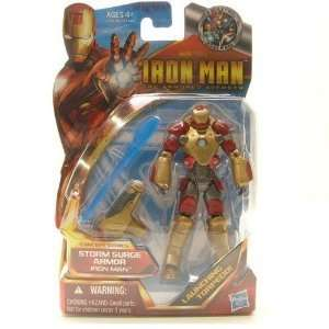 Iron Man 2 Concept 4 Inch Action Figure #46 Iron Man Storm Surge Armor