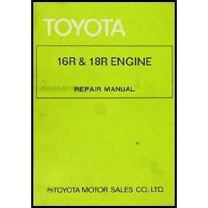Repair Shop Manual Celica Pickup Corona Mark II 98107: Toyota: Books