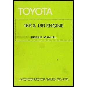 Repair Shop Manual Celica Pickup Corona Mark II 98107: Toyota: Books