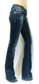 NWT MISS ME White Stitch Wishing Star Crystal Hot Jeans