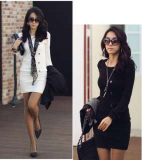New Sexy Korea Women Long Sleeve Casual Mini Dress