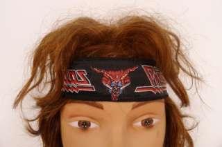 JUDAS PRIEST Original 80s Headband NEW   vtg Heavy Metal Head banger