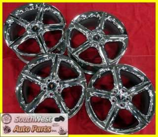 05 06 07 08 09 PONTIAC SOLSTICE SATURN SKY 18 CHROME T/O WHEELS OEM