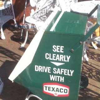 Vintage old Texaco Oil Gasoline Wiper Blade Display Sign Gas Service