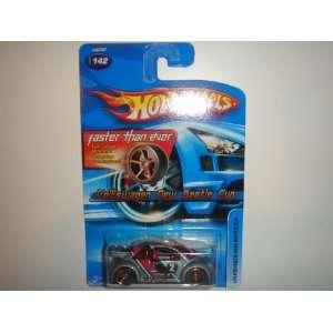 2005 Hot Wheels Volkswagen New Beetle Cup Grey FTE Wheel