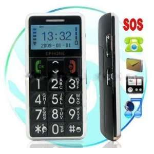 Old Faithful Senior Citizen Cell Phone. Large Buttons