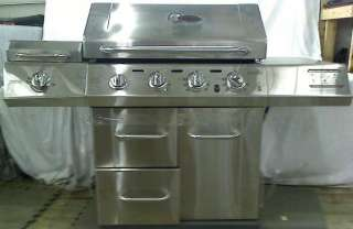 Char Broil RED Stainless Steel 4 Burner Infrared Propane Grill