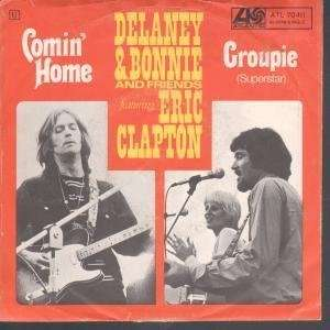 45) GERMAN ATLANTIC 1969 DELANEY AND BONNIE WITH ERIC CLAPTON Music