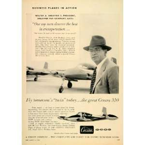 Aircraft Walter Sheaffer Wichita   Original Print Ad: Home & Kitchen