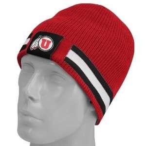 Nike Utah Utes Red/Black Reversible Knit Beanie Sports