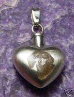 Cremation Heart Photo Urn Urns Necklace Jewelry pet