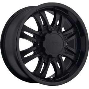 American Eagle 59 18x8.5 Flat Black Wheel / Rim 6x135 with a 22mm
