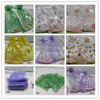 Various Wedding gift favor bag jewelry organza bags candy