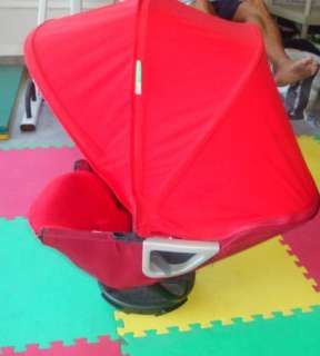 EUC ORBIT BABY G2 TRAVEL SYSTEM W/BABY & TODDLER SEAT