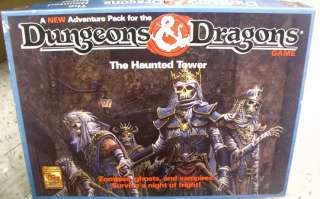 DUNGEONS & DRAGONS The Haunted Tower Adventure BOXED GAME TSR #1081