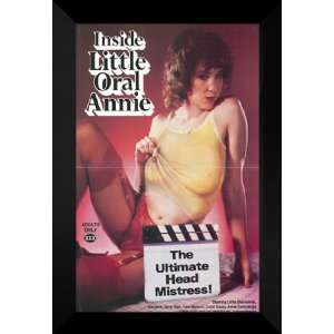 Inside Little Oral Annie 27x40 FRAMED Movie Poster   A: