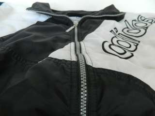 Adidas Superstar Windbreaker Jacket M VTG Retro Zip Up DMC Snapback