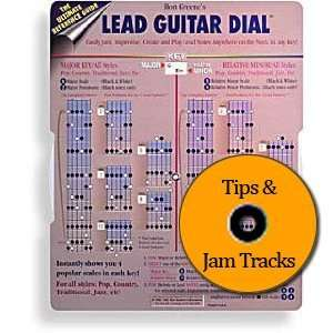Lead Guitar Dial & CD   Solo Notes / Scales for Playing Songs in Each