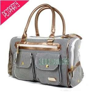 Stylish Dog Cat Pet Carrier Tote Handbag Purse Travel Bag Crate