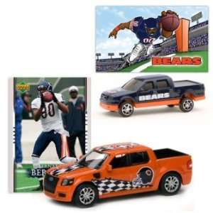 2007 UD NFL Ford SVT/F 150 w/Cards Bears Bernard Berrian