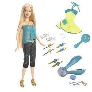 Totally Hair Color It Barbie: Toys & Games