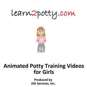 Animated Potty Training Video for Girls: Animated, Jon