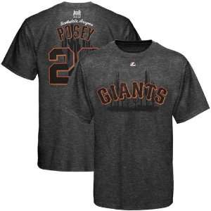 MLB Majestic Buster Posey San Francisco Giants #28 Spring Training T